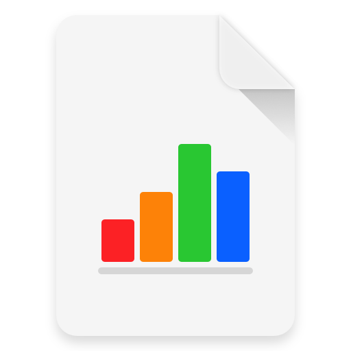Dividend Income Portfolio Template for Apple Numbers icon